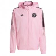 Jacheta adidas Inter Miami All Weather pentru Barbat roz negru