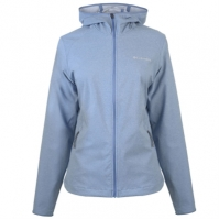 Jacheta Columbia Heather Softshell pentru Dama albastru dusk