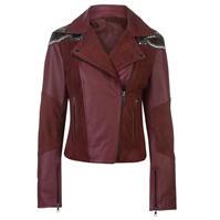 Jacheta Firetrap Blackseal Sequin din piele