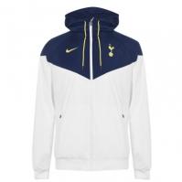 Jacheta Geaca pentru vant Nike Tottenham Hotspur pentru Barbat alb albastru