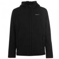 Jacheta Gelert Softshell cu gluga pentru Barbat negru