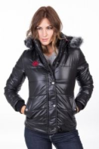 POLO CLUB HOODED QUILTED BOMBER SPORT JACKE pentru Dama