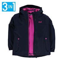 Jacheta Jack Wolfskin Islanda pentru fetite