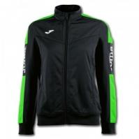 Jacheta Joma Championship Iv negru-fluor verde pentru Dama fosforescent