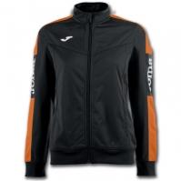 Bluza de trening Joma Champion Iv negru-orange pentru Dama portocaliu