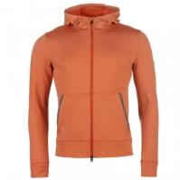 Bluze de trening KJUS Brissago cu gluga pentru Barbat portocaliu