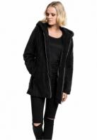 Jacheta pufoasa Sherpa pentru Dama negru Urban Classics