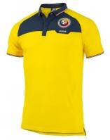 Tricou casual Polo cu maneca scurta echipa nationala a Romaniei galben Joma