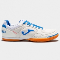 Adidasi fotbal de sala Joma Top Flex 602 alb-negru-orange Indoor