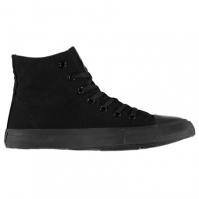 Adidasi inalti Lee Cooper Canvas Shoes pentru Barbat