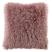Linens and Lace Shaggy Cushion