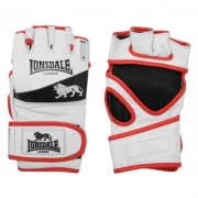 Manusi Lonsdale MMA Training alb negru