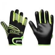 Manusi Sportech GAA Gripper Juniors verde lime negru