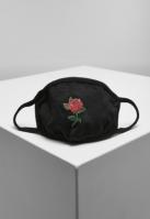 Masca fashion protectie Rose negru Mister Tee