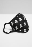 Masca fashion protectie Skull negru-alb Mister Tee