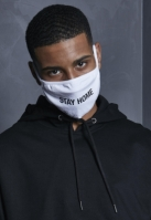 Masca fashion protectie Stay Acasa alb Mister Tee