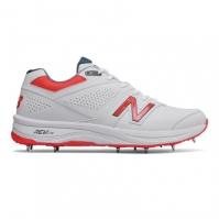 New Balance 4030v3 Cricket Spikes pentru Barbat alb negru rosu