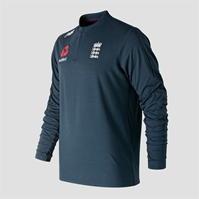 Bluza de trening New Balance Anglia Cricket Quarter cu fermoar pentru Barbat