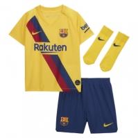 Nike Barcelona Away Kit 2019 2020 pentru Bebelusi galben