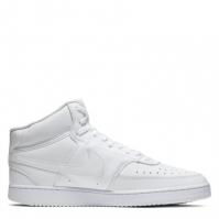 Nike Court Vision Mid Shoe pentru Barbat alb negru