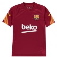 Nike FC Barcelona Strike Big Short-Sleeve Soccer Top pentru Copil