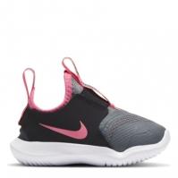 Nike Flex Runner Shoes pentru fete pentru Bebelusi gri roz negru