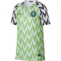 Tricou echipa Nike Nigeria 2018/19 Juniors alb
