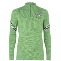Nike Nigeria Strike Drill Top 2020 pentru Barbat verde negru