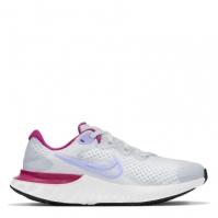 Nike Renew Run 2 Big Shoe pentru Copil gri mov albastru