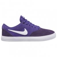 Nike SB Check Solarsoft Skate Shoe pentru Dama mov alb