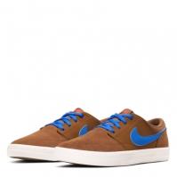 Nike SB Solarsoft Portmore II Skate Shoe pentru Barbat maro albastru