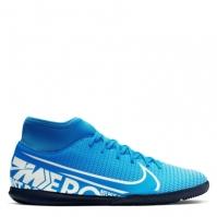 Adidasi pentru fotbal de sala Nike Superfly 7 Club albastru hero