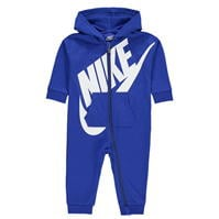 Nike Swoosh Sleep Suit pentru Bebelusi game albastru roial