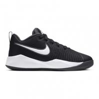 Nike Team Hustle Quick 2 Big Shoe pentru Copil negru alb