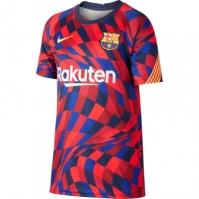 Tricou Nike FC Barcelona Pre Match Juniors