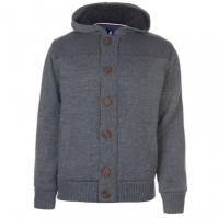 Cardigan Kangol Button cu captuseala tricot pentru Barbat