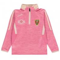 ONeills Down GAA cu fermoar pentru fetite mt roz car ang
