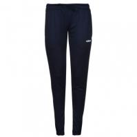 Pantaloni adidas fotbal Sereno Slim pentru Dama bleumarin alb
