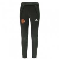Pantaloni antrenament sport adidas Manchester United 2020 2021 pentru Copil verde