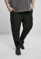 Pantaloni Cargo conici Double negru Urban Classics