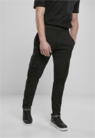 Pantaloni Cargo conici negru Urban Classics