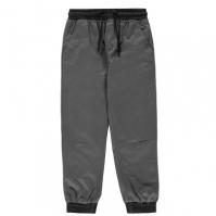 Pantaloni chino No Fear Ribbed Waistband pentru baietei verde gri