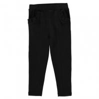 Pantaloni Crafted Ponte pentru fete pentru Bebelusi negru
