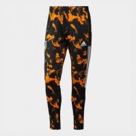 Pantaloni de trening adidas Juventus imprimeu Graphic pentru Barbat negru portocaliu