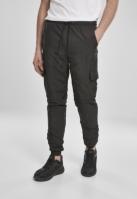 Pantaloni de trening Cargo nailon negru Urban Classics
