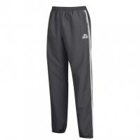 Pantaloni de trening Lonsdale 2 cu dungi pentru Barbat gri carbune alb