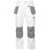 Pantaloni Dunlop On Site pentru Barbat alb gri