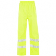 Pantalon  Dunlop Hi Vis Waterproof    barbat
