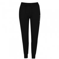 Pantaloni jogging Guess Logo negru a996