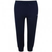 Pantaloni jogging LA Gear trei sferturi Interlock pentru Dama bleumarin